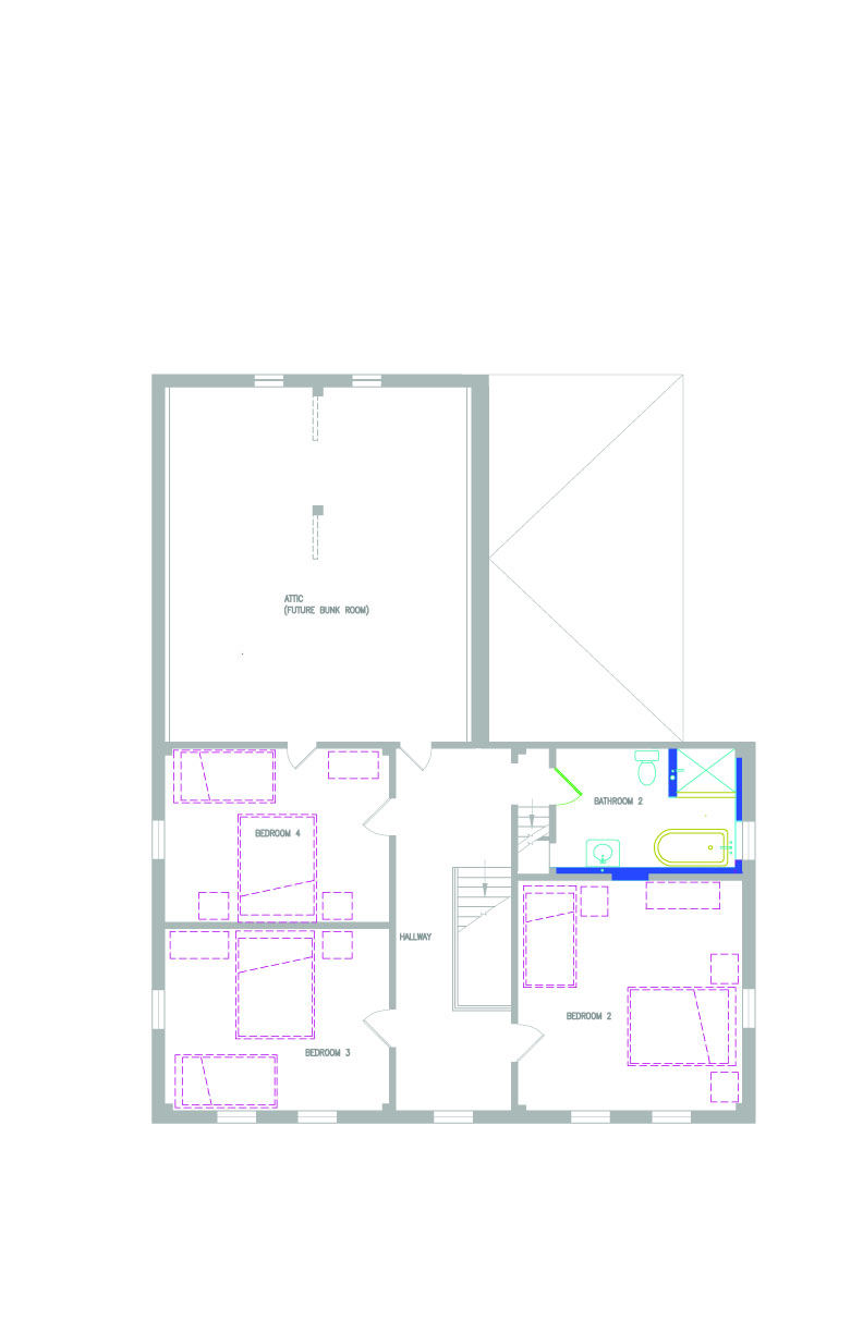 Floor plans vermont farmhouse project for Vermont farmhouse plans