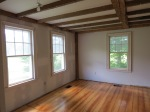 Finished wood floors in Living Room