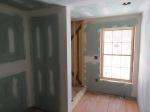 New sheetrocked walls