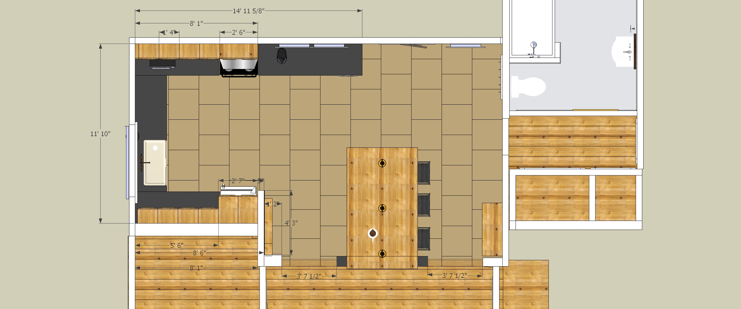 New Kitchen Design Updated Vermont Farmhouse Project