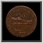 Vermont copper penny