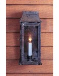 Colonial lantern for either side of front door