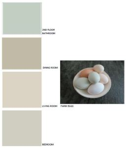 Neutral common space paint palette