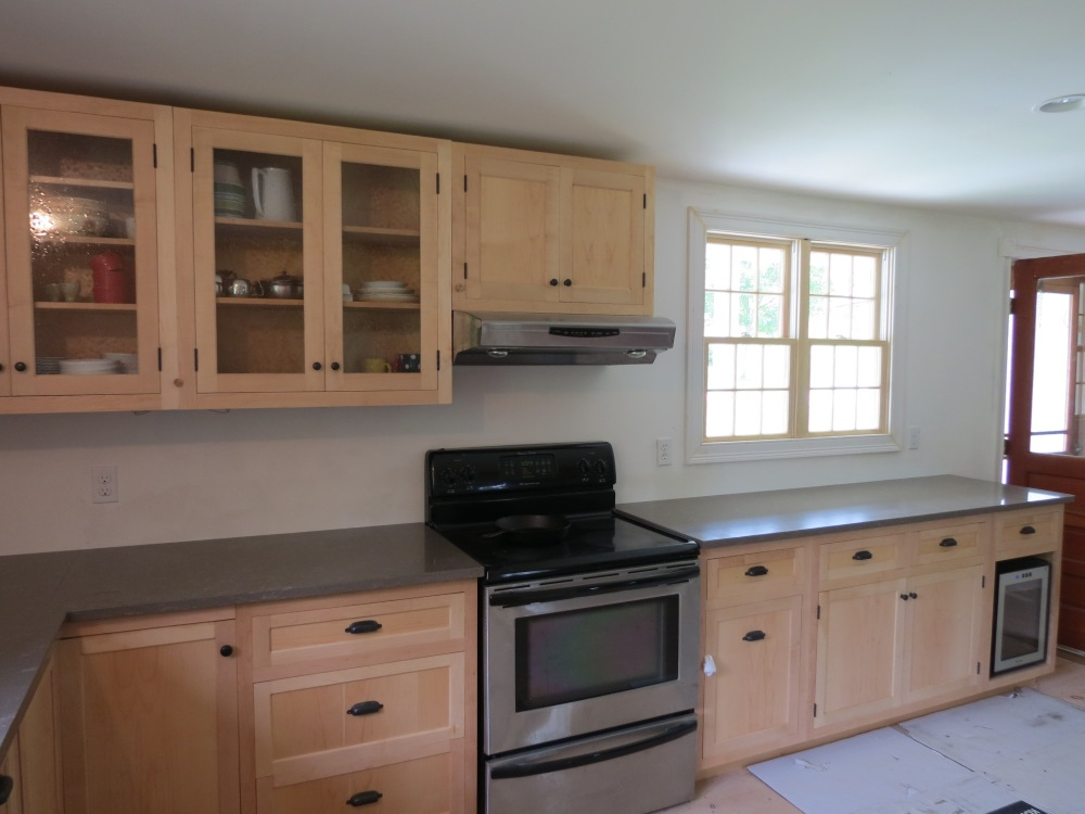 New Kitchen Nearly Completed (1/3)