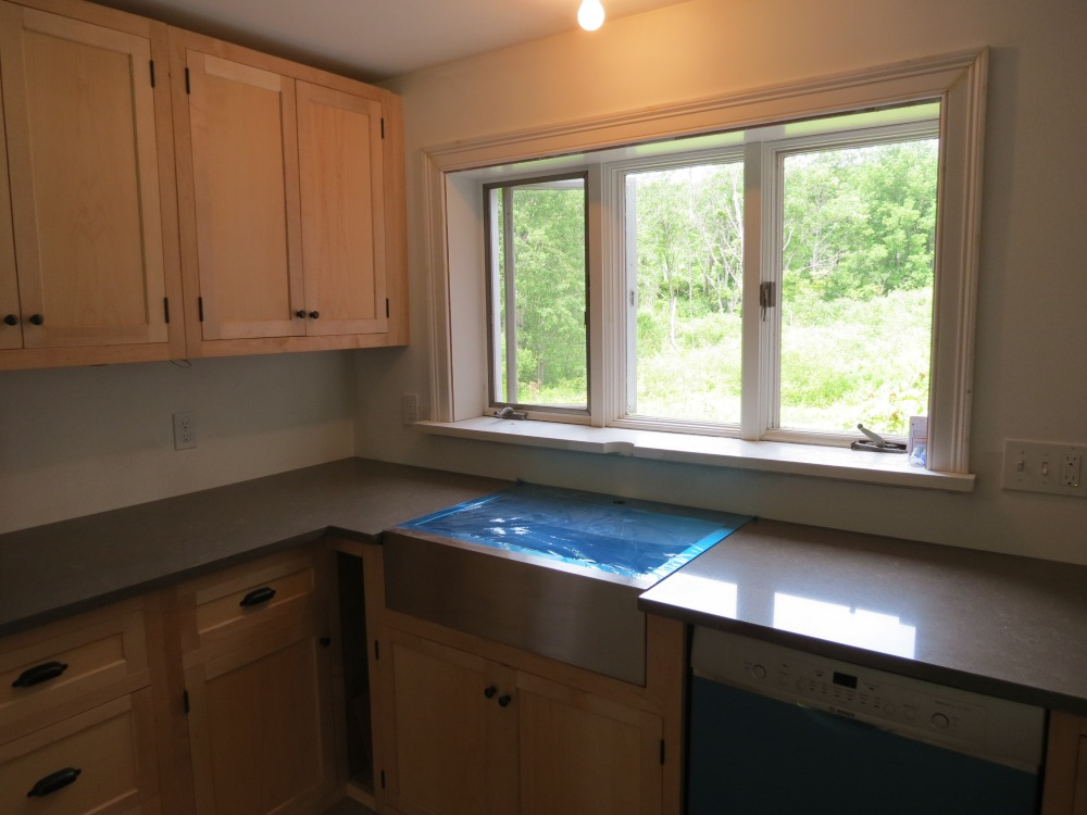 New Kitchen Nearly Completed (2/3)