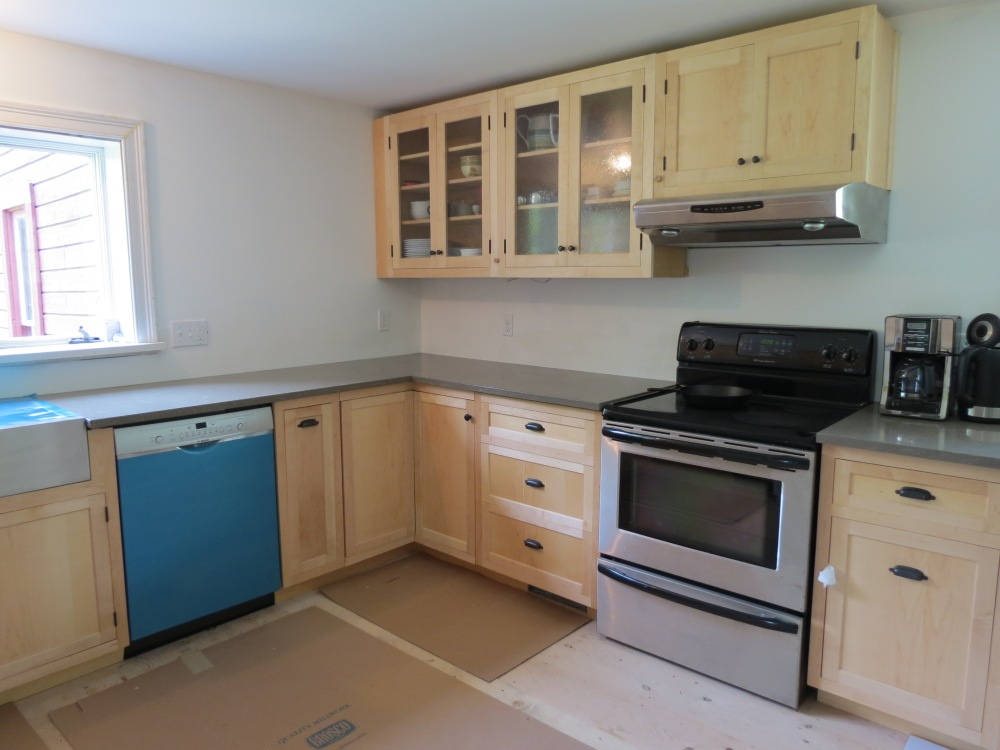 New Kitchen Nearly Completed (3/3)
