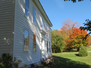 Front of House - South facing and fall colors